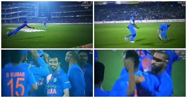 किसने क्या कहा: 1.3वें ओवर में हार्दिक पंड्या बने सुपरमैन तो वरुण धवन ने कह डाला कुंग फु पंड्या, फिर पंड्या ने दिया शानदार जवाब 16