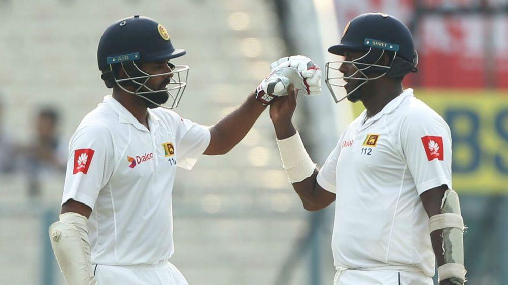 कोलकाता टेस्ट : श्रीलंका ने पहली पारी में बनाए 165/4 15