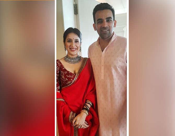 आखिर गुप-चुप तरीके से सागरिका घाटगे के साथ शादी के बंधन में बंधे जहीर खान, तो रोहित ने कही ये बात 1