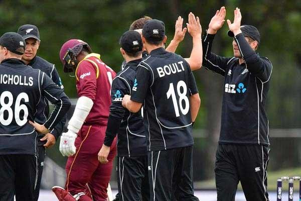 डकवर्थ लुईस नियम के तहत पहले टी-20 में न्यूजीलैंड ने वेस्टइंडीज को 5 विकेट से हराया 8