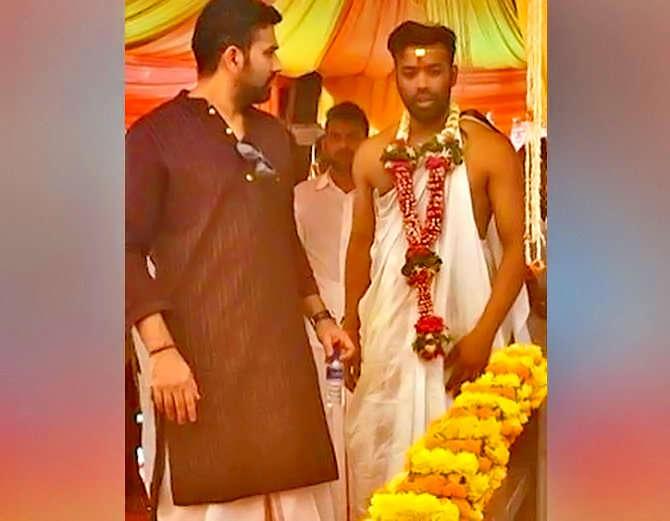 रोहित शर्मा का भाई