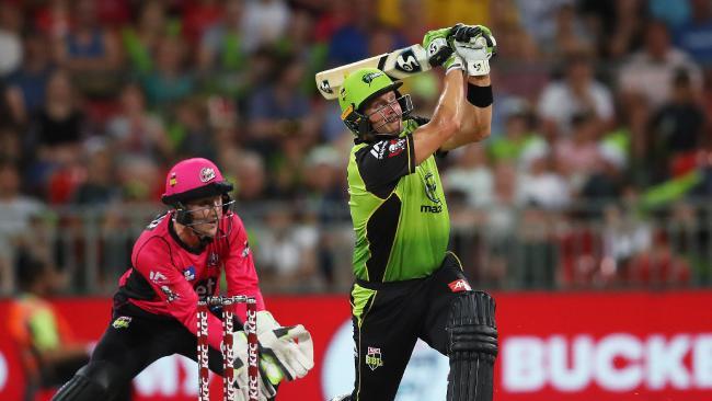 बिग बैश लीग के 11वें रोमांचक मुकाबले में होबार्ट हरिकेन्स को सिडनी थंडर ने दी 57 रनों से मात 2