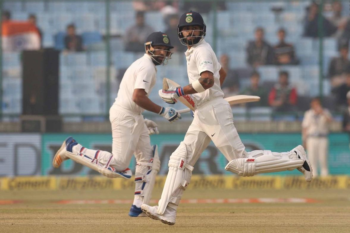 delhi test match recordss day 4