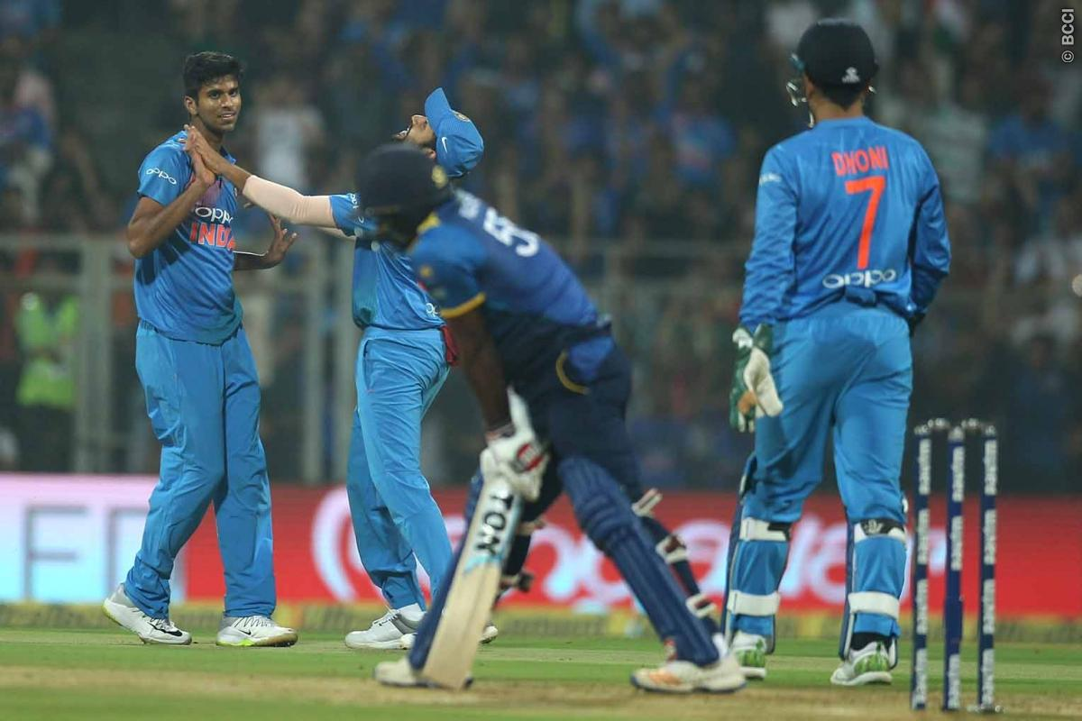 STATS: वानखेड़े में टीम इंडिया ने रचा इतिहास वाशिंगटन सुन्दर, रोहित शर्मा ने लगाई रिकार्ड्स की झड़ी, मैच में बने कुल 23 रिकॉर्ड 3