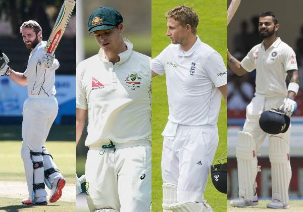 आंकड़ो के आधार पर देखे विराट कोहली, जो रूट, स्टीवन स्मिथ और केन विलियम्सन में से कौन है सर्वश्रेष्ठ टेस्ट बल्लेबाज 9