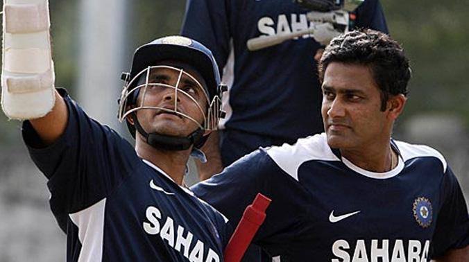2003 में कुंबले को भारतीय टीम में शामिल करवाने के लिए सौरव गांगुली ने दाँव पर लगा दिया था अपना अन्तर्राष्ट्रीय करियर 3