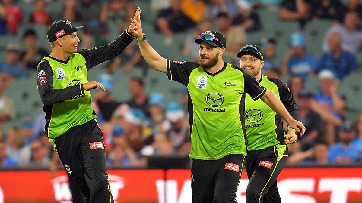 बिग बैश लीग के 11वें रोमांचक मुकाबले में होबार्ट हरिकेन्स को सिडनी थंडर ने दी 57 रनों से मात 7
