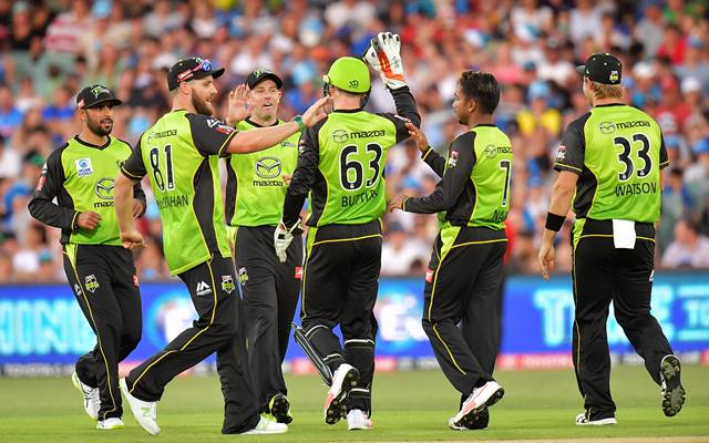 बिग बैश लीग के 11वें रोमांचक मुकाबले में होबार्ट हरिकेन्स को सिडनी थंडर ने दी 57 रनों से मात 6