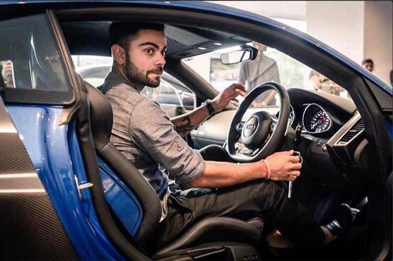 PHOTO: विराट कोहली कई लग्जरी कारों के हैं मालिक, देखिए किन कारों को करते है खुद ड्राइव 3