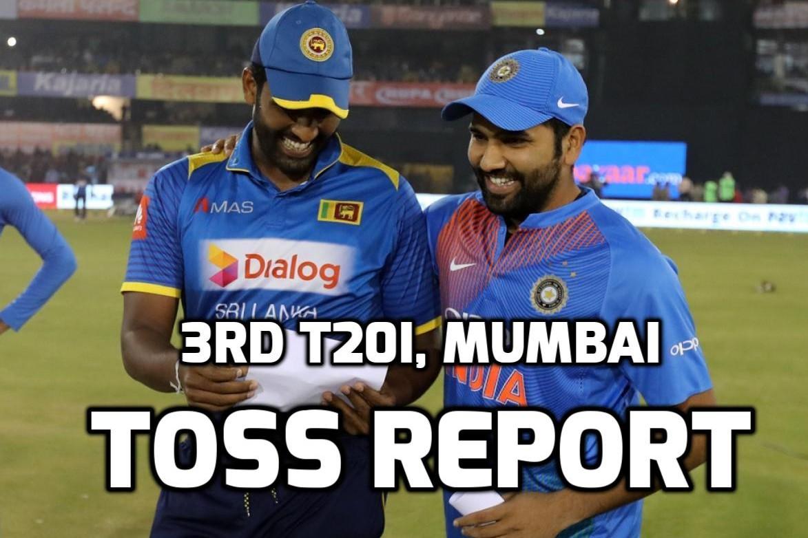 INDvSL: भारत ने जीता टॉस पहले गेंदबाजी करने का फैसला, पहली बार मिला इस युवा खिलाड़ी को टीम में जगह 6