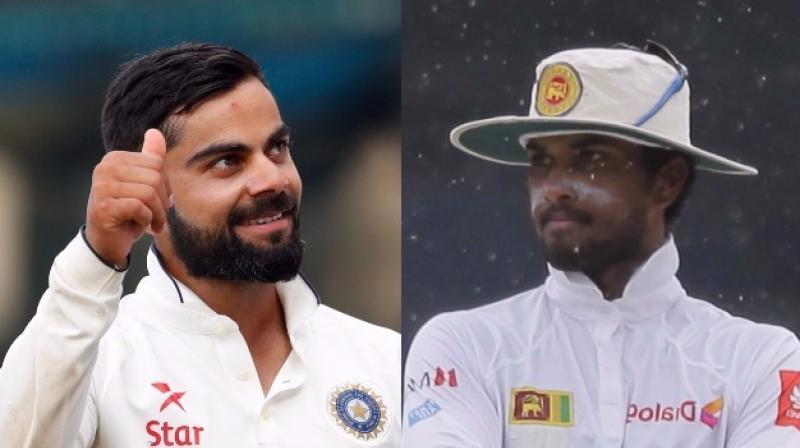 टॉस के दौरान श्रीलंका के कप्तान दिनेश चांडिमल ने बना दिया भारतीय टीम विराट कोहली का मजाक 3