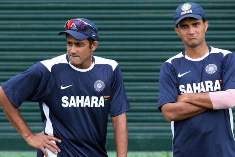 2003 में कुंबले को भारतीय टीम में शामिल करवाने के लिए सौरव गांगुली ने दाँव पर लगा दिया था अपना अन्तर्राष्ट्रीय करियर 5