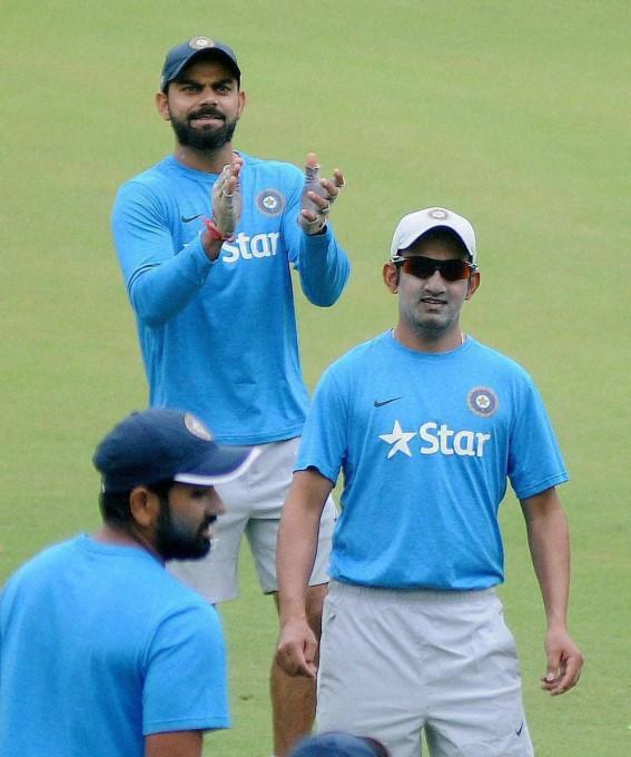 INDvSL: दूसरे टी-20 के अभ्यास सत्र के दौरान नेट पर आया एक मिस्ट्री स्पिनर, रोहित, धोनी जैसे खिलाड़ी भी रह गए हैरान 2