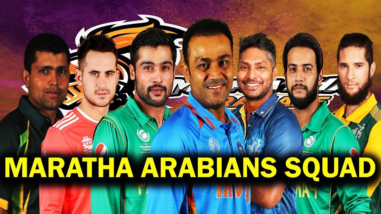 टी10 टूर्नामेंट : सहवाग की टीम मराठा अरेबियंस ने पंजाबी लैजेंड्स को हरा सेमीफाइनल में बनाई अपनी जगह 10
