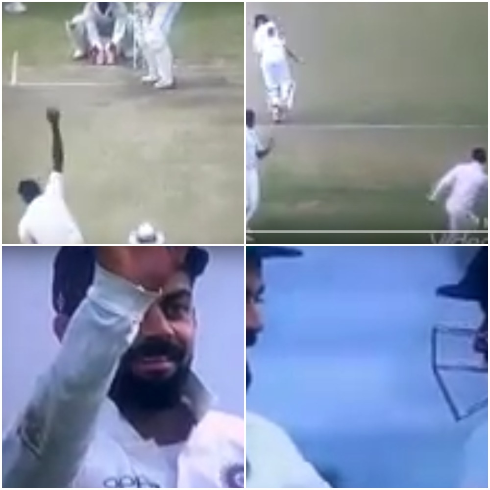 वीडियो : विराट कोहली ने पहले श्रीलंका बल्लेबाज को मारी गेंद और फिर कही ये बात 16