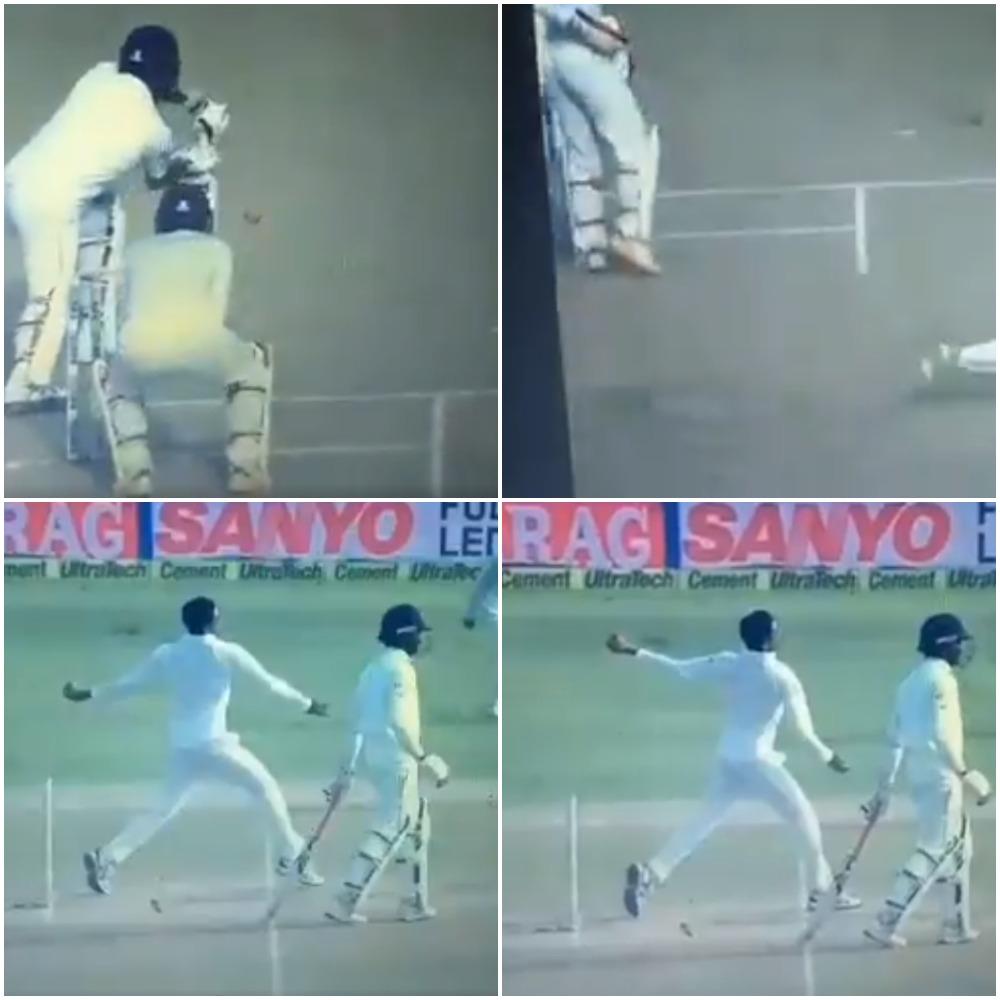 VIDEO: 21.6वें ओवर में रविन्द्र जडेजा ने किया कुछ ऐसा कि अंपायर की एक बड़ी गलती के कारण भी टीम को मिल गयी एक बड़ी सफलता 15
