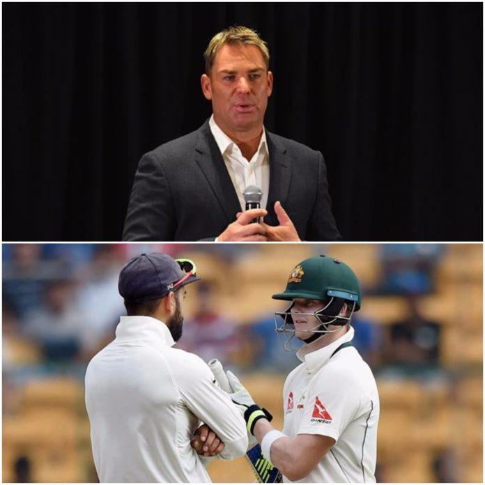 शेन वार्न ने स्मिथ और कोहली की तुलना करते हुए इस दिग्गज को बताया टेस्ट क्रिकेट का सर्वश्रेष्ठ बल्लेबाज 9