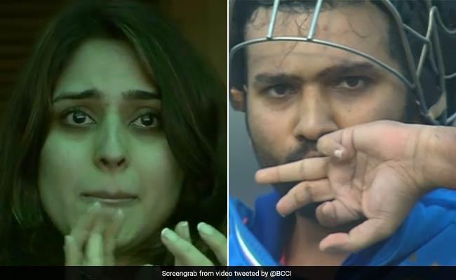 रोहित शर्मा ने बताया तीसरे दोहरे शतक पर क्यों रो पड़ी थी रितिका सजदेह 5