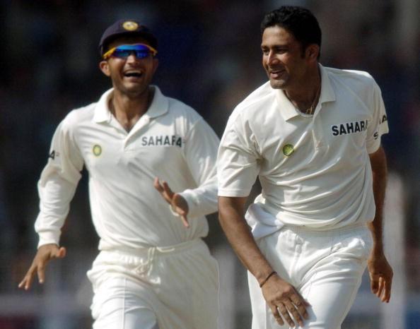 2003 में कुंबले को भारतीय टीम में शामिल करवाने के लिए सौरव गांगुली ने दाँव पर लगा दिया था अपना अन्तर्राष्ट्रीय करियर 4