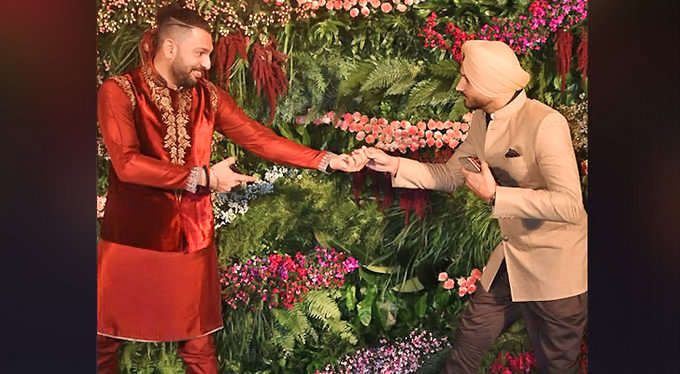 युवराज सिंह के बाद अब हरभजन सिंह ने भी दिया अनुष्का शर्मा को एक खास नाम, नाम देख शाम तक नहीं रुकेगी आप हंसी 1