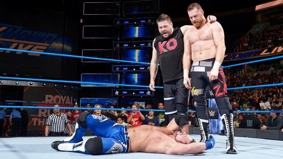 Royal Rumble: केविन ओवेन्स और सैमी जेन से WWE Championship के लिए हैंडीकैप मैच में लोग हुए स्टाइल्स के दीवाने,ट्विटर पर कुछ इस तरह जताई ख़ुशी 23