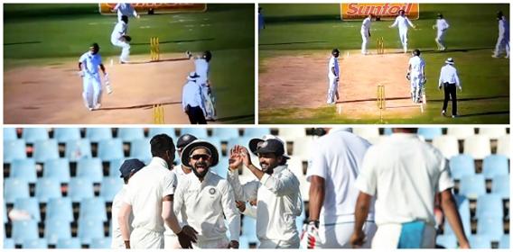 VIDEO: 83वें ओवर में हुआ कुछ ऐसा की मेहमान टीम के बल्लेबाजो का मजाक उड़ाने से नहीं चुके विराट कोहली,आपस में ही भीड़ गये साउथ अफ़्रीकी बल्लेबाज 1