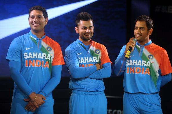 भारतीय क्रिकेट टीम ने इस तिरंगे वाली जर्सी में कभी नहीं खेला कोई अंतर्राष्ट्रीय मैच, जानिये पूरा सच 1