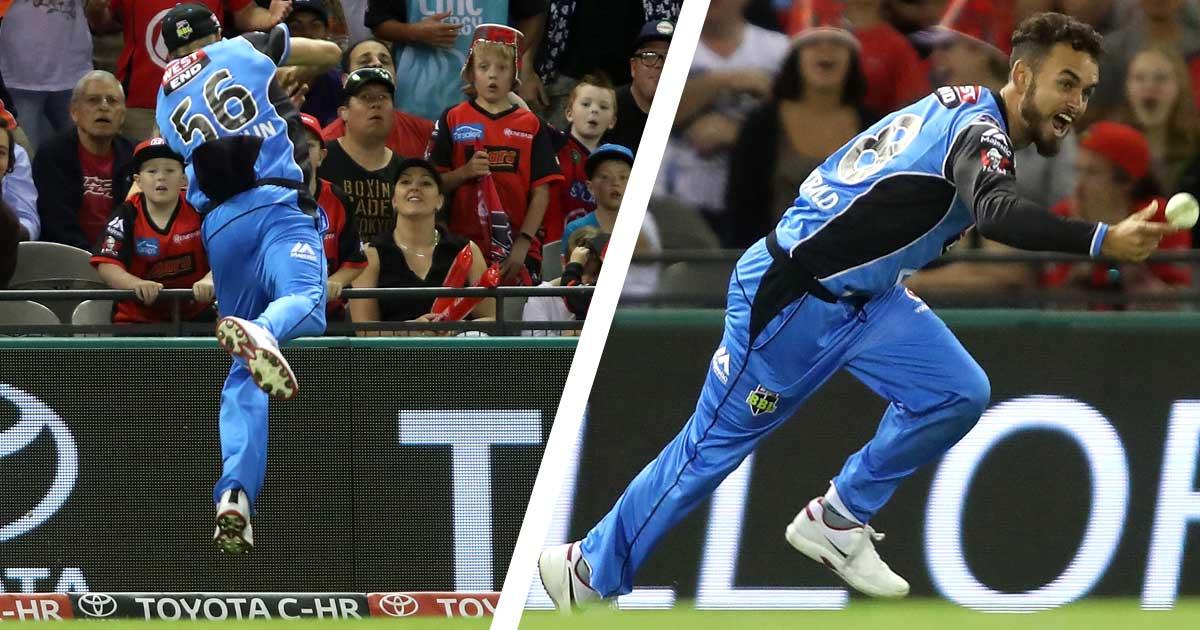 VIDEO: बिग बैश लीग के 15वें ओवर में लिया गया 2018 का सर्वश्रेष्ठ कैच, बल्लेबाज, अम्पायर और दर्शक सब रह गये हैरान 61