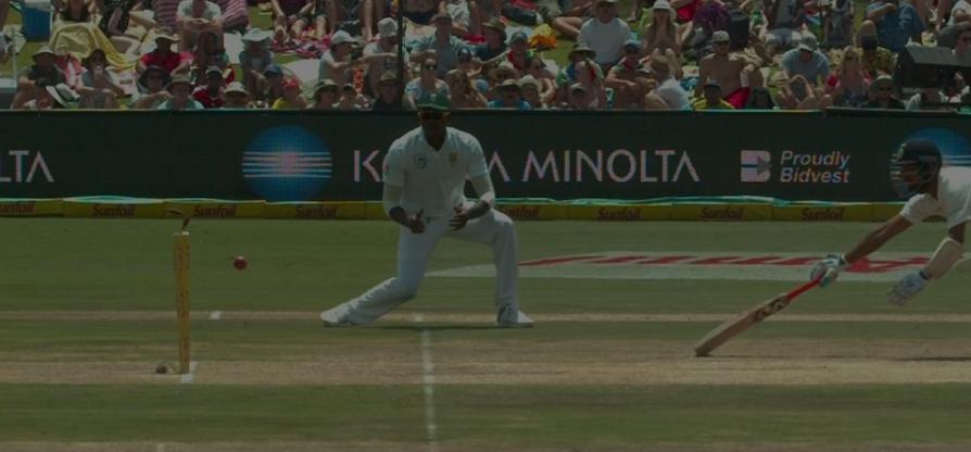 वीडियो : 9.4 ओवर में डेब्यू कर रहे लुंगी नागीदी ने किया चेतेश्वर पुजारा को ऐसा रन आउट, कि सर पकड़ कर मैदान पर ही लेट गये पुजारा 2