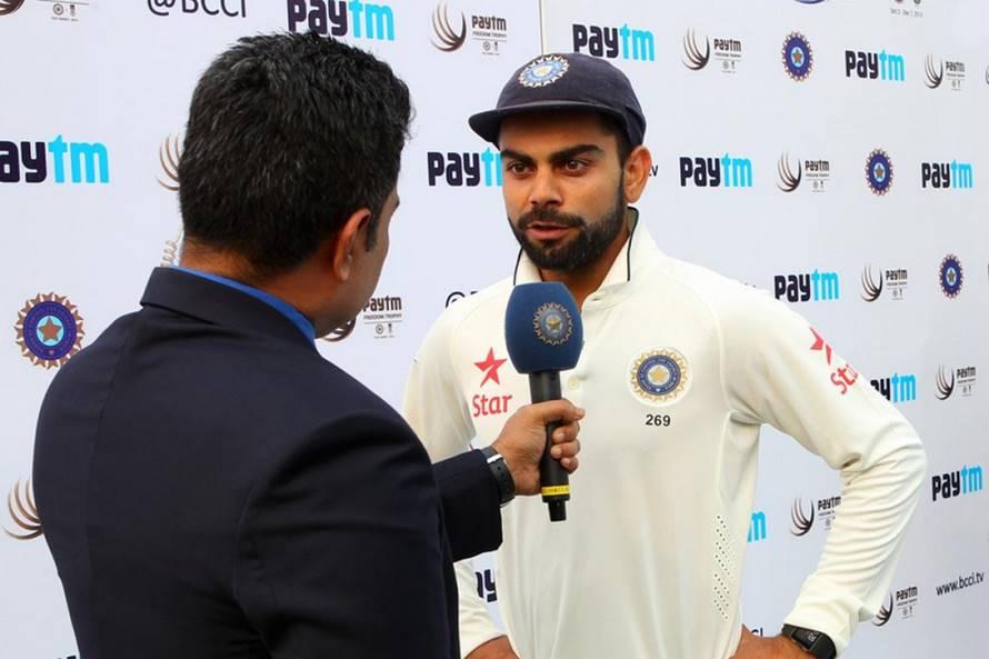 टॉस के दौरान अपने बयान में विराट कोहली ने बताया, कि आखिर क्यों भुवनेश्वर कुमार की जगह इशांत शर्मा को किया गया शामिल 19