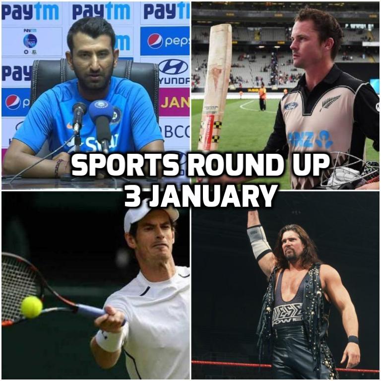 स्पोर्ट्स राउंड अप: एक नजर में पढ़े 3 जनवरी 2018 की खेल जगत से जुड़ी हर एक बड़ी खबर 1