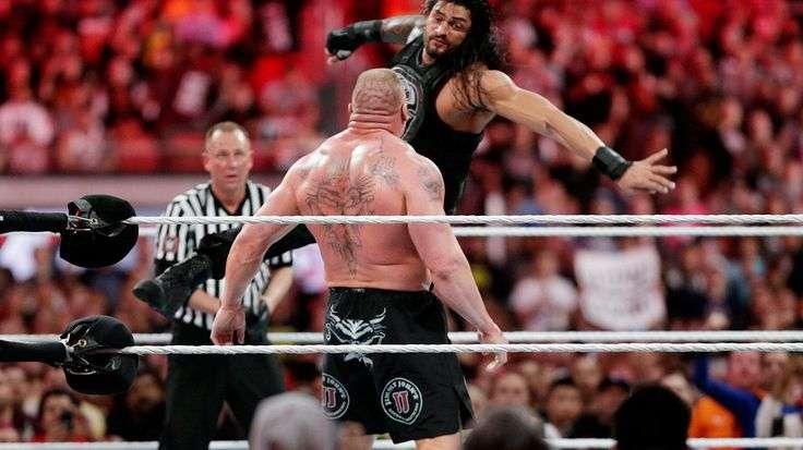 Greatest Royal Rumble में ब्रॉक लैसनर के खिलाफ होने वाले मैच से पहले रोमन रेंस ने ने दी चेतावनी 10