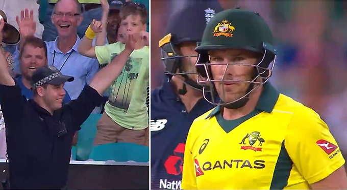 VIDEO: इंग्लैंड और ऑस्ट्रेलिया के बीच मैच के दौरान लिया गया ऐसा कैच, आज से पहले ही देखा होगा किसी ने जिसने देखा बस रह गया हैरान 19
