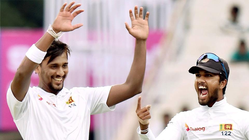 श्रीलंकाई टेस्ट टीम के उप-कप्तान बने लकमल 1