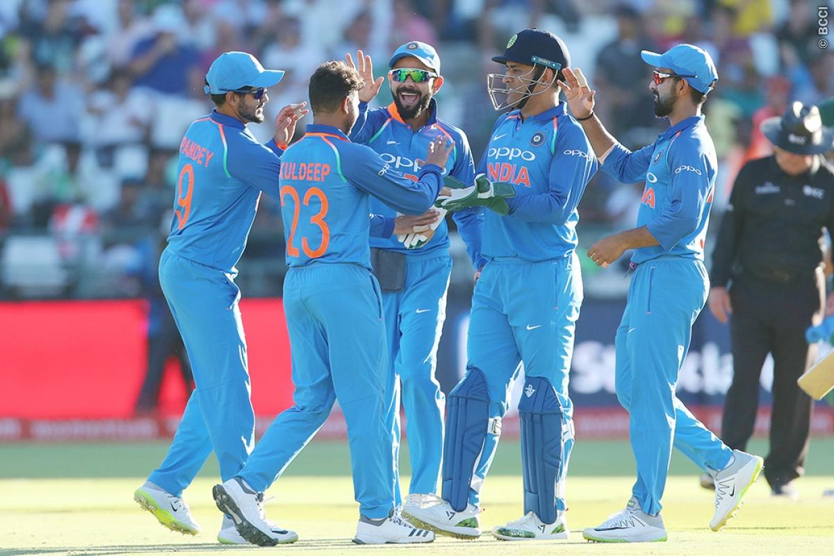 SA vs IND 2018: Records Team India and Its Players Could Break in Fifth ODI 1