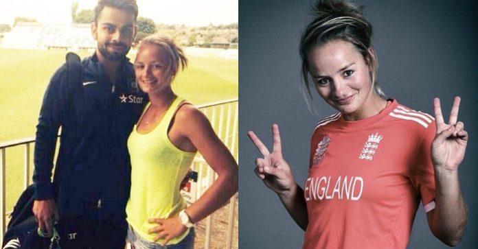 विराट कोहली के लिए एक बार फिर छल्का इंग्लैंड की महिला क्रिकेटर डेनियल वायट का प्यार, अब कहा कुछ ऐसा अनुष्का को हो सकती है जलन 1