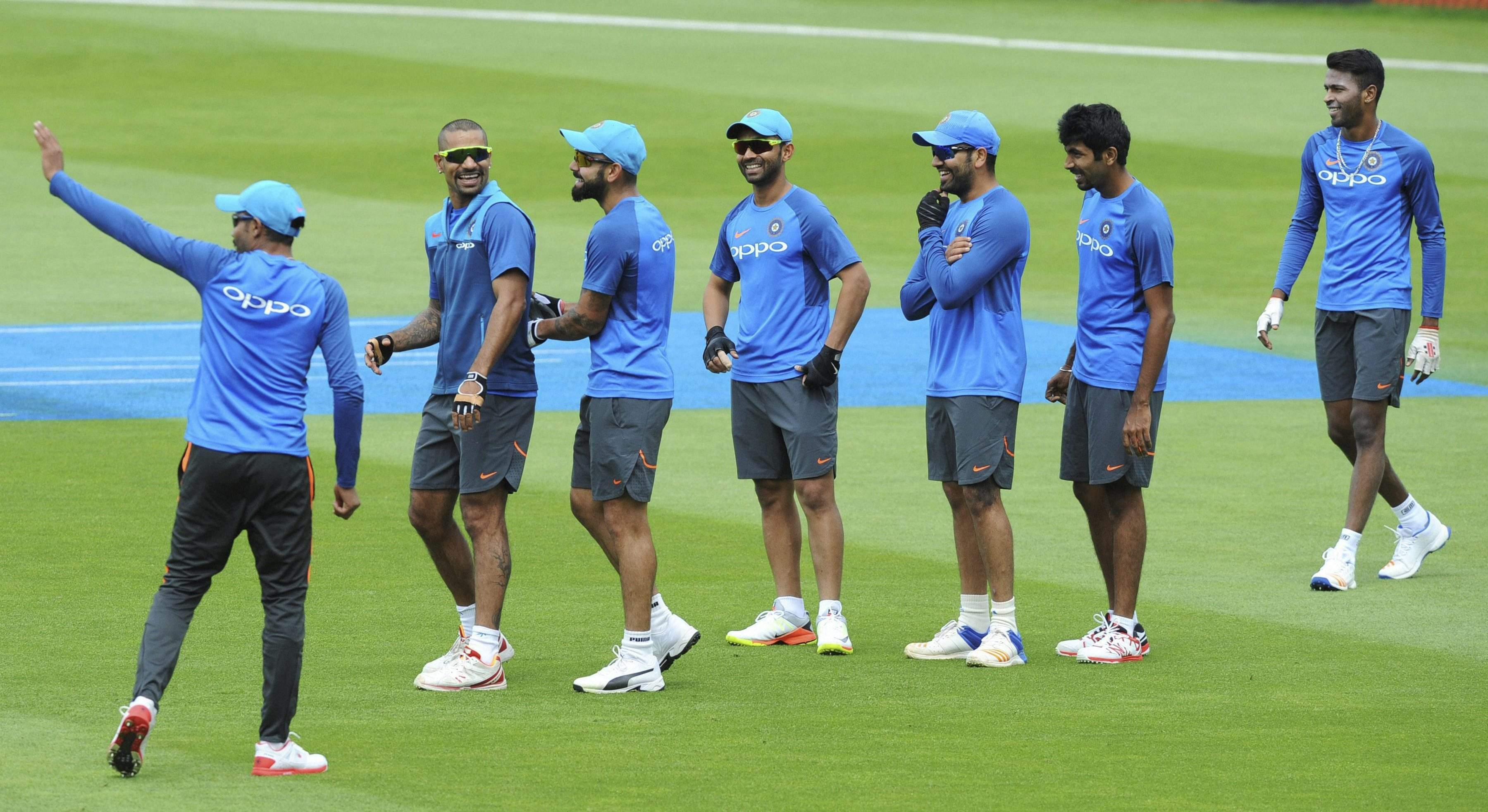 Indian Team PTI