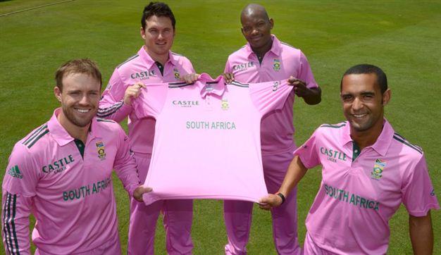 क्या चौथे वनडे में एबी डीविलियर्स की वापसी से मजबूत होगी अफ्रीकी टीम? पिंक वनडे में कैसा है डिविलियर्स का रिकॉर्ड और अफ्रीकी खिलाड़ी क्यूँ पहनते हैं पिंक जर्सी? 7