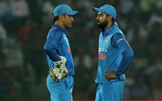 इस दिग्गज भारतीय खिलाड़ी ने भी बांधे धोनी की तारीफों के पूल, कहा धोनी की वजह से ही सफल है विराट 6
