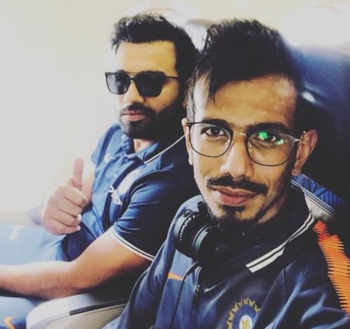 yuzvendra chahal share a pic with hit man, users make funny comment