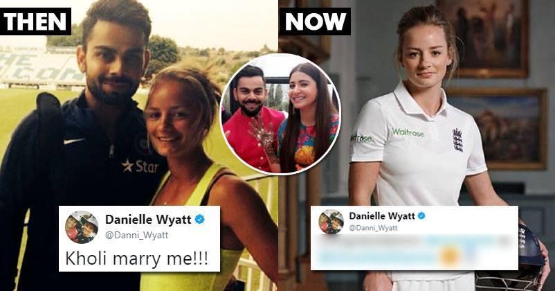 विराट कोहली के लिए एक बार फिर छल्का इंग्लैंड की महिला क्रिकेटर डेनियल वायट का प्यार, अब कहा कुछ ऐसा अनुष्का को हो सकती है जलन 2