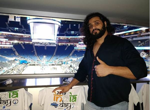 Saurabh gujjar Tv star debut in WWE