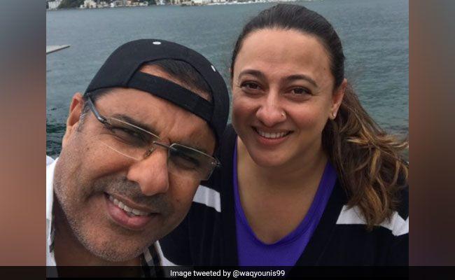 पाकिस्तान के दिग्गज क्रिकेटर वकार यूनिस के उनकी पत्नी को दी शादी की सालगिरह पर बधाई लेकिन पत्नी हुई इस बात को लेकर नाजार 13