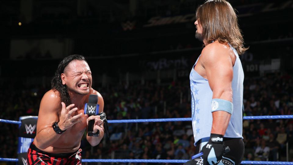 WWE SMACKDOWN रिजल्ट्स 28 मार्च 2018: ये रहे मैचो के रिजल्ट्स 1