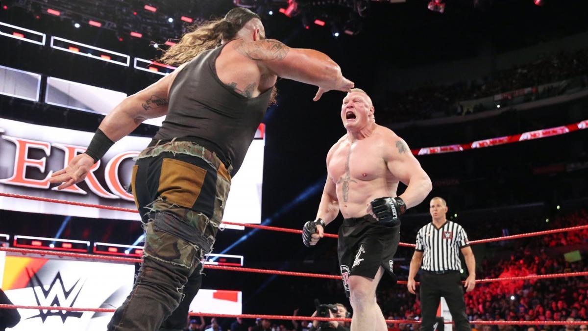 RUMOUR: ...तो क्या रेसलमेनिया के मेन इवेंट मैच में रोमन रेन्स की जगह ब्रोन स्ट्रोमैन लड़ते हुए दिखाई देंगे ! 16