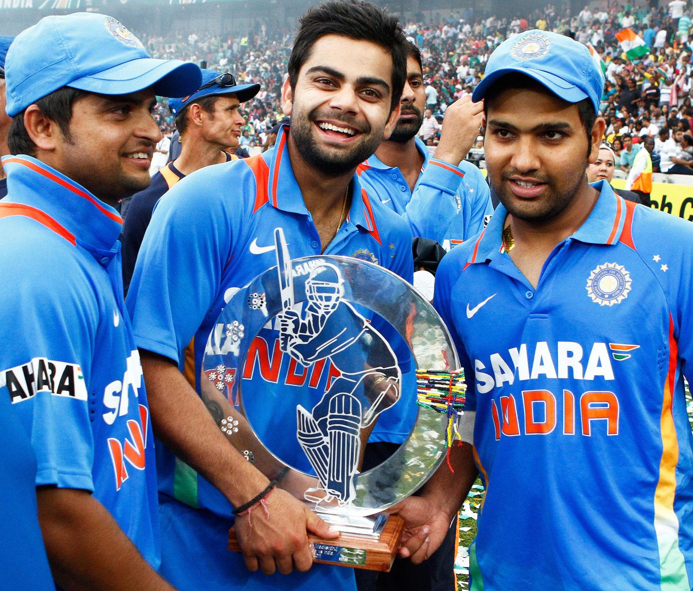 RECORD: टीम इंडिया की जीत में रोहित शर्मा का नाम दर्ज हुआ यह अनोखा कीर्तिमान, रैना और विराट के क्लब में हुए शामिल 4