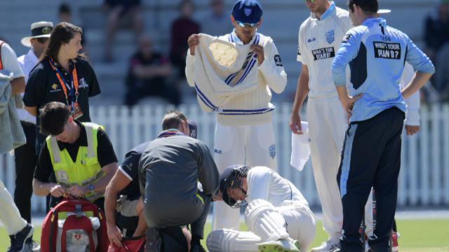 बुरी खबर: क्रिकेट के मैदान पर सीन एबोट की गेंद पर एक बार फिर हुई दर्दनाक घटना, आ गयी फ्लिप ह्यूज की याद 13