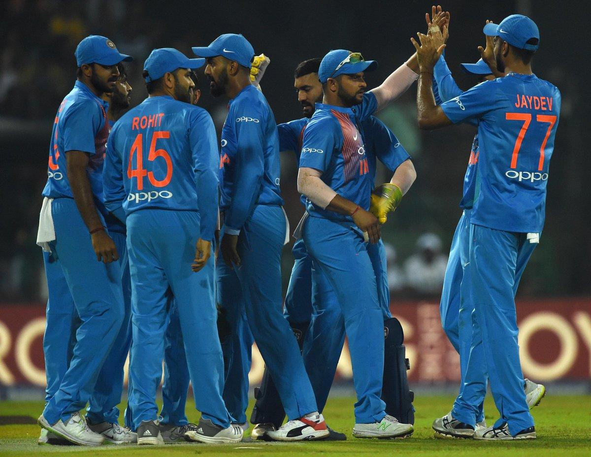 टीम इंडिया के निदहास ट्रॉफी जीतने के बाद ख़ुशी से गदगद हुई बीसीसीआई, रोहित एंड कम्पनी की जमकर हो रही हैं तारीफ 1
