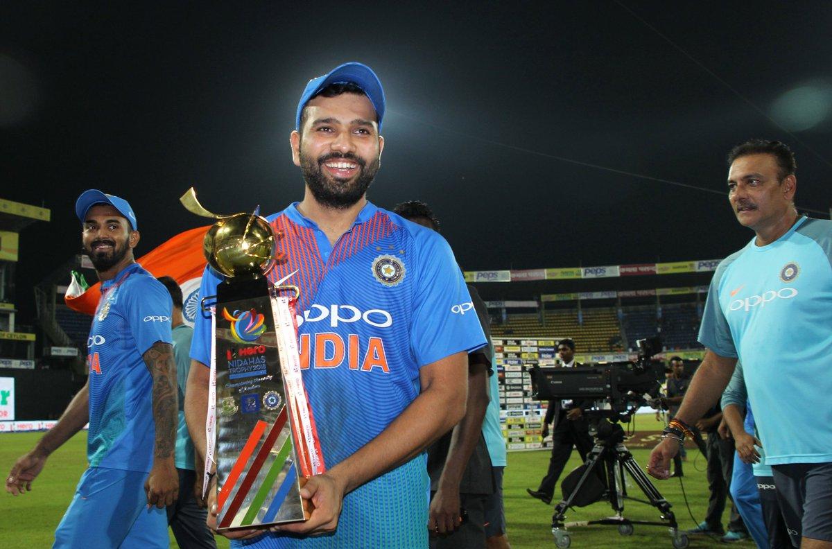 इस कारण रोहित शर्मा ने नहीं देखा दिनेश कार्तिक का मैच विनिंग शॉट 5