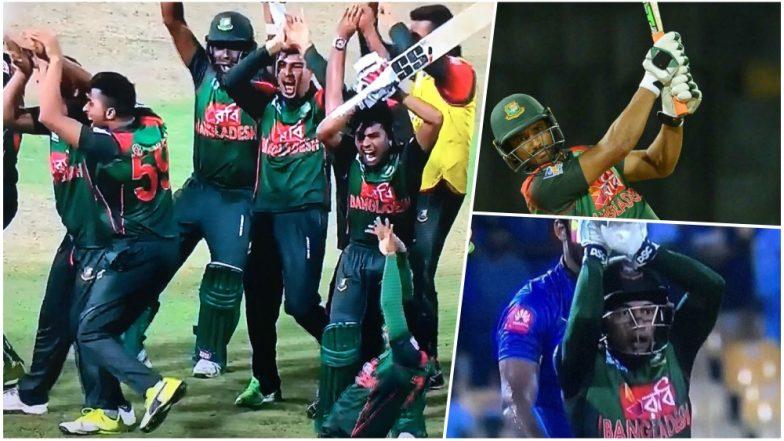 4 मौके जब अपनी हरकतों की वजह से हंसी का पात्र बने बांग्लादेशी खिलाड़ी 4